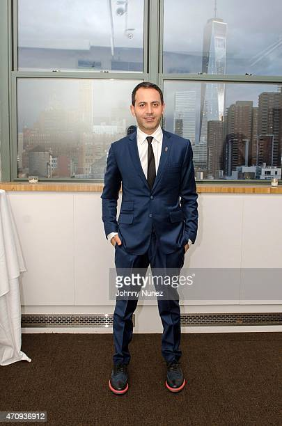 Gabriel RiveraBarraza attends the 2015 Glasswing International Benefit Gala at Tribeca Three Sixty on April 23 in New York City