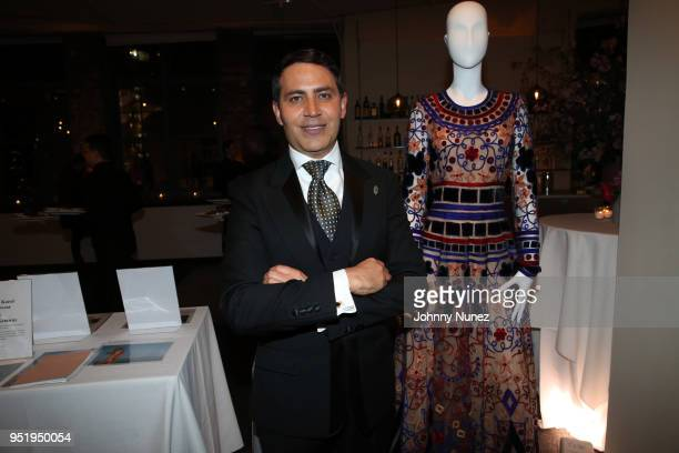 Gabriel RiveraBarraza attends the 2018 Glasswing International Gala at Tribeca Rooftop on April 26 2018 in New York City