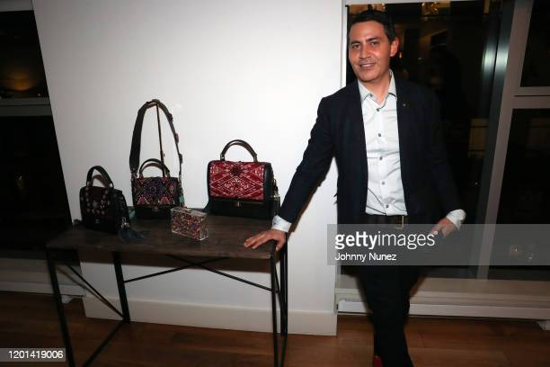 Gabriel Rivera-Barraza attends the Marias By Alida Boer Cocktail Reception on January 22, 2020 in New York City.
