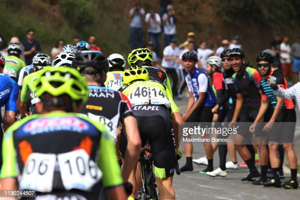 Gabriel Rojas of Costa Rica and Team Aevolo / Peloton / Fans / Public / during the 2nd Tour of Colombia 2019, Stage 5 a 177,2km stage from La Unión...