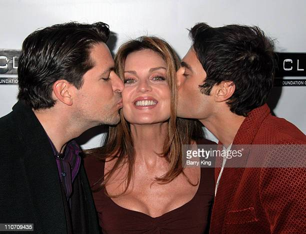 Gabriel Romero Tracy Scoggins and Jon Fleming during Here Network founders Paul Colichman and Stephen Jarchow Honored at 2007 ACLU Pride Partnership...