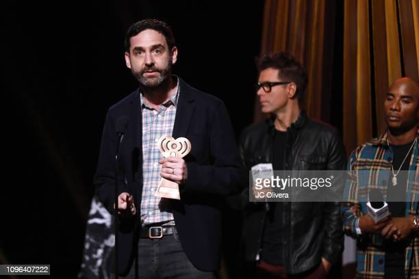 Gabriel Roth speaks onstage during the 2019 iHeartRadio Podcast Awards Presented By Capital One at iHeartRadio Theater on January 18 2019 in Burbank...