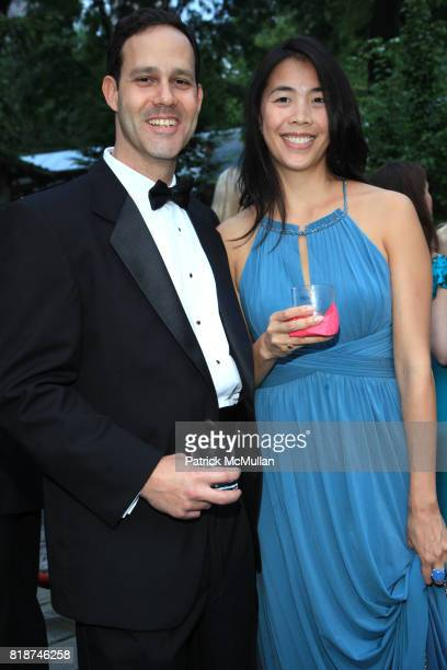 Gabriel Ruebner and Edith Cho attend Wildlife Conservation Society Spring 2010 Gala Flight of Fancy at Central Park Zoo on June 10 2010 in New York...