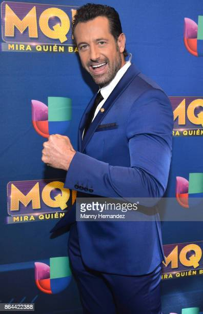 Gabriel Soto attends Mira Quien Baila Week 5 at Univision Studios on October 15 2017 in Miami Florida