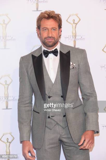 Gabriel Soto attends Premios Tv y Novelas 2017 at Televisa San Angel on March 26 2017 in Mexico City Mexico