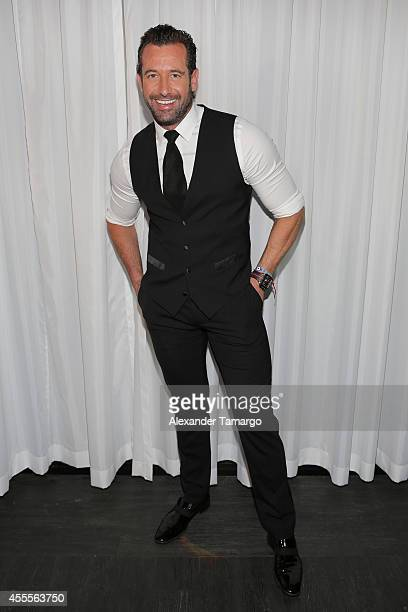 Gabriel Soto attends The Israel Ministry of Tourism Reception at Briza on the Bay on September 16 2014 in Miami Florida