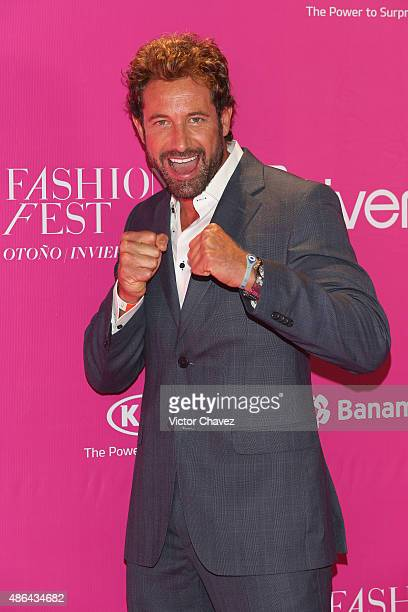 Gabriel Soto attends the Liverpool Fashion Fest Autumn/Winter 2015 at Televisa San Angel on September 3 2015 in Mexico City Mexico