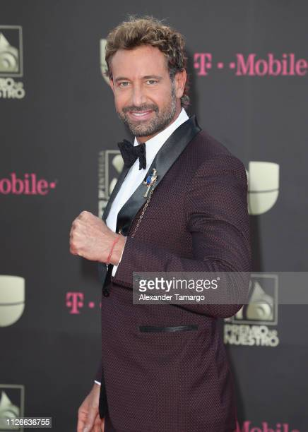 Gabriel Soto attends Univision's 31st Edition Of Premio Lo Nuestro A La Musica Latin at American Airlines Arena on February 21 2019 in Miami Florida