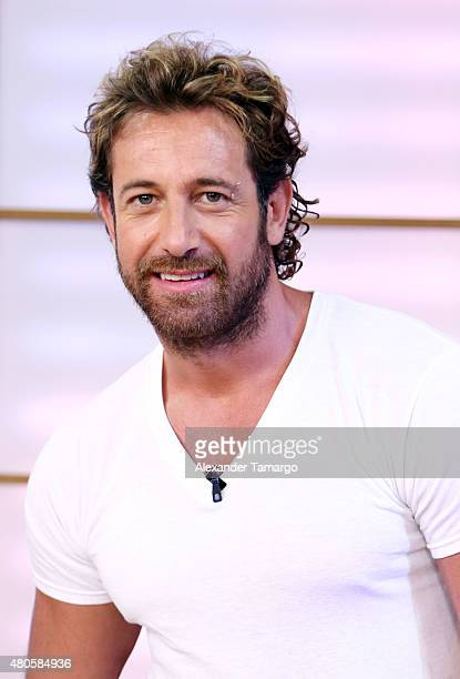 Gabriel Soto is seen on the set of Despierta America at Univision Studios on July 13 2015 in Miami Florida
