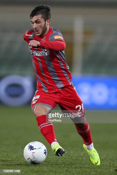 Gabriel Tadeu Strefezza Rebelato US Cremonese during the Italian Serie B 2018/2019 match between Pescara Calcio 1936 FC and US Cremonese at Stadio...