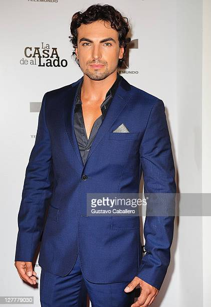 Gabriel Valenzuela attends Telemundo La Casa de al Lado VIP Premiere at Mandarin Oriental on May 31, 2011 in Miami, Florida.