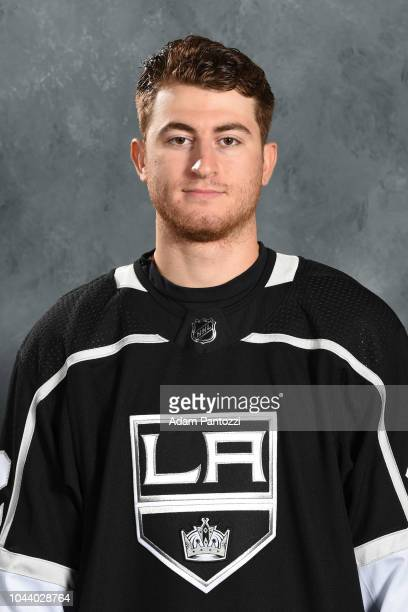Gabriel Vilardi of the Los Angeles Kings poses for his official headshot for the 20182019 season on September 06 2018 at the Toyota Sports Center in...