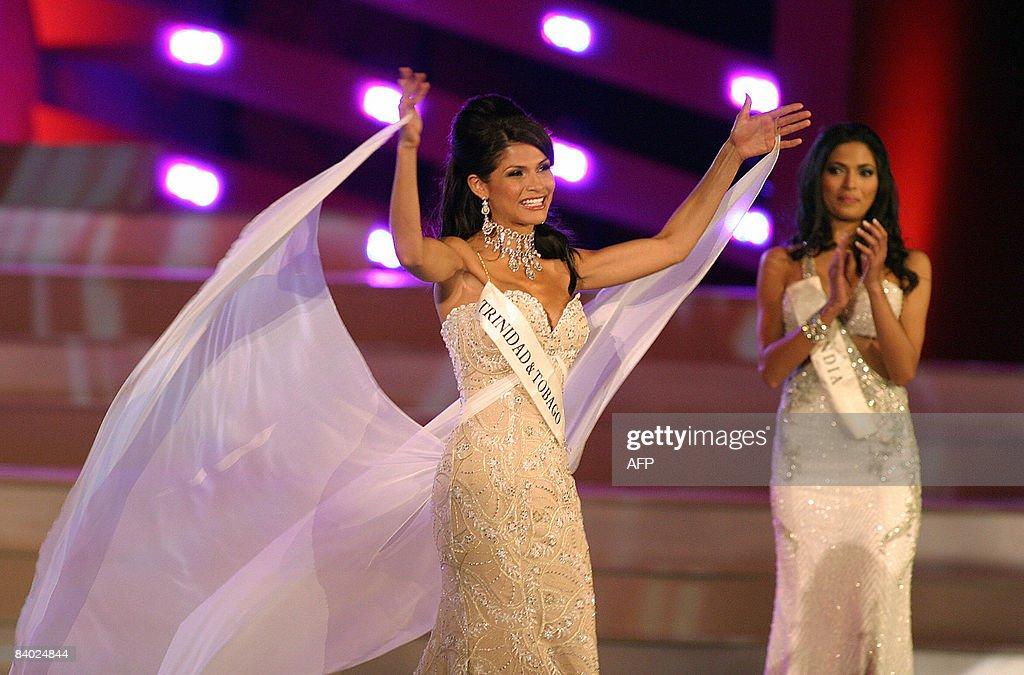 and tobago 2008 Miss trinidad
