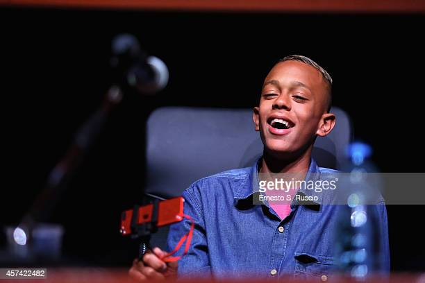 Gabriel Weinstein attends the 'Trash' Press Conference during the 9th Rome Film Festival on October 18 2014 in Rome Italy