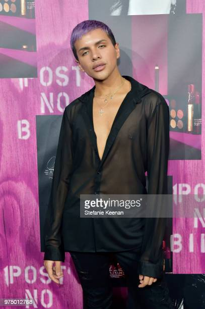 Gabriel Zamora attends MAC Cosmetics Aaliyah Launch Party on June 14 2018 in Hollywood California