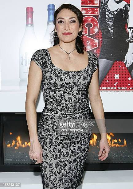 Gabriela Garcia attends Chicago on Broadway at Ambassador Theatre on January 16 2012 in New York City