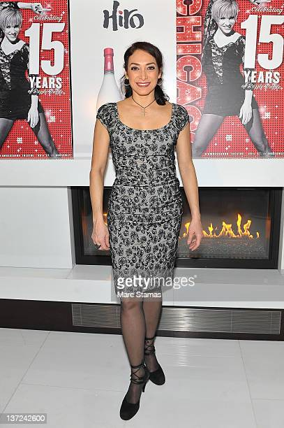 "Gabriela Garcia joins the cast of ""Chicago"" on Broadway at Ambassador Theatre on January 16, 2012 in New York City."