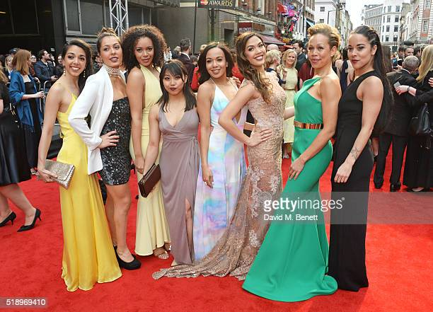 Gabriela Garcia Sarah Naudi Jocasta Almgill Alexzandra Sarmiento CourtneyMae Briggs Christine Allado Josie Benson and Philippa Stefani of In The...