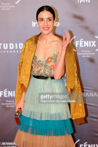 Gabriela Garza poses during Fenix Iberoamerican Film Awards 2017 at Teatro de La Ciudad on December 06 2017 in Mexico City Mexico