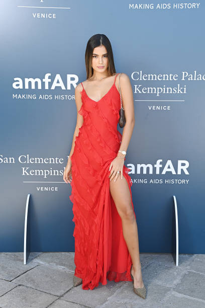 ITA: amfAR Host Luncheon - The 78th Venice International Film Festival