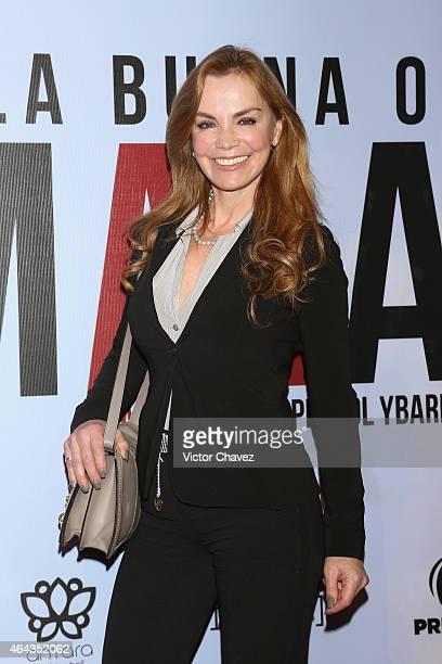 "Gabriela Goldsmith attends ""A La Mala"" Mexico City premiere at Cinepolis Antara Polanco on February 24, 2015 in Mexico City, Mexico."