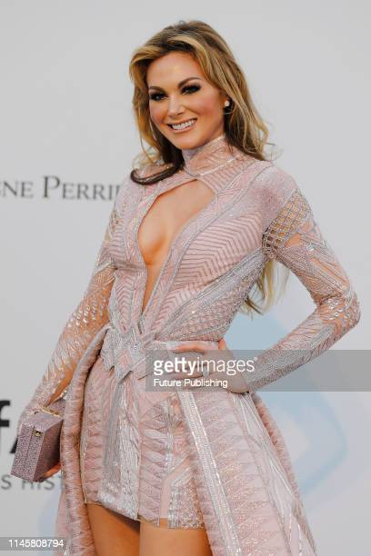 Gabriela Gonzalez at the amfAR Cannes Gala 2019 at Hotel du CapEdenRoc on May 23 2019 in Cap d'Antibes France