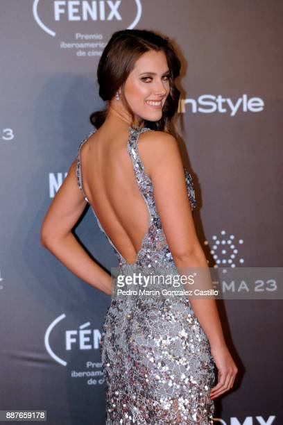 Gabriela Graf poses during Fenix Iberoamerican Film Awards 2017 at Teatro de La Ciudad on December 06 2017 in Mexico City Mexico