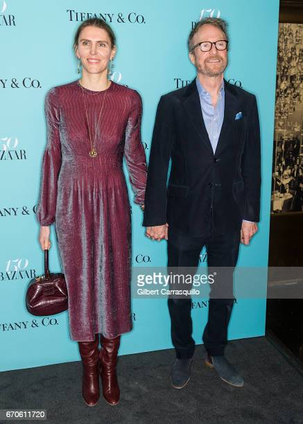 921c0c765538 Gabriela Hearst and Austin Hearst attend Harper s BAZAAR 150th Anniversary  Event presented with Tiffany Co at