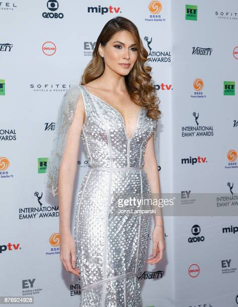 Gabriela Isler attends 45th International Emmy Awards at New York Hilton on November 20 2017 in New York City