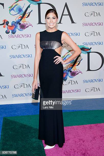 Gabriela Isler attends the '2014 CFDA Fashion Awards' red carpet arrivals at Alice Tully Hall in New York City �� LAN