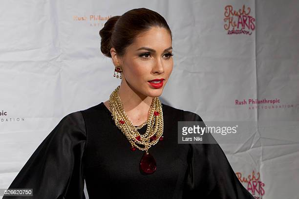 Gabriela Isler attends The Third Annual Rush HeARTS Education Valentine's Day Luncheon at the Plaza Hotel in New York City �� LAN