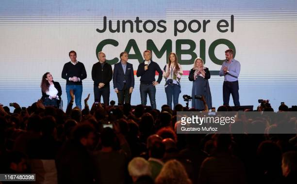 Gabriela Michetti Vice President of Argentina Diego Santilli Deputy Chief of Government of Buenos Aires City Horacio Rodriguez Larreta Mayor of...