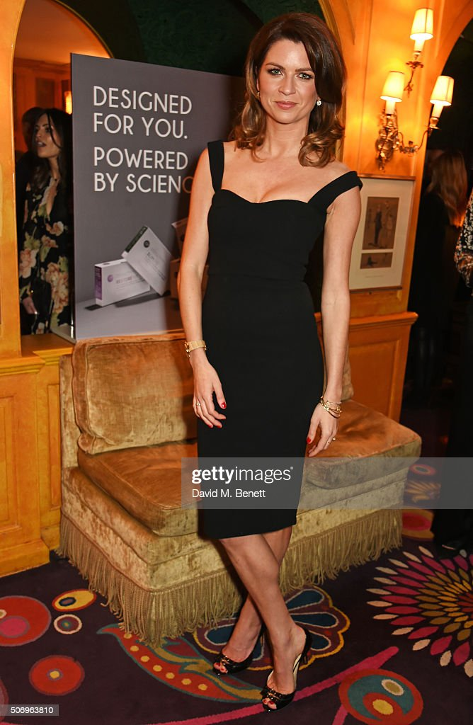 Gabriela Peacock attends the launch of GP Nutrition Supplements, a collection of five premium nutritional programmes perfect for modern living, at Annabels on January 26, 2016 in London, England.