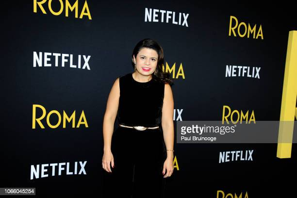 Gabriela Rodriguez attends Netflix Hosts A Special Screening Of Roma at Directors Guild of America Theater on November 27 2018 in New York City