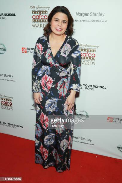 Gabriela Rodriguez attends the 10th Annual AAFCA Awards at Taglyan Complex on February 06 2019 in Los Angeles California