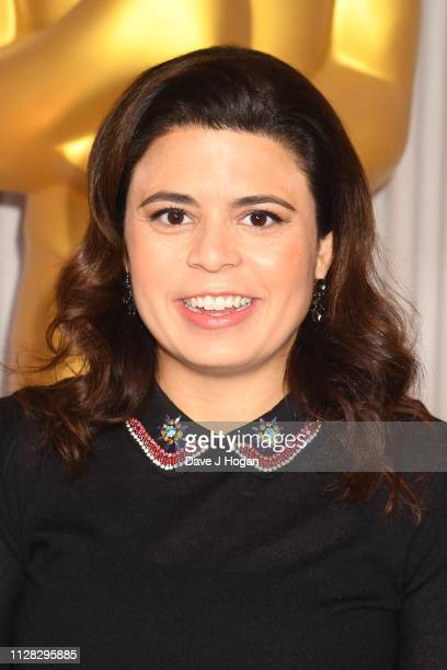 Gabriela Rodriguez attends the 91st Oscars Nominee Champagne Tea Reception at Claridges Hotel on February 08 2019 in London England