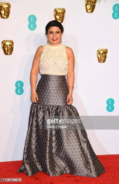 Gabriela Rodriguez attends the EE British Academy Film Awards at Royal Albert Hall on February 10 2019 in London England