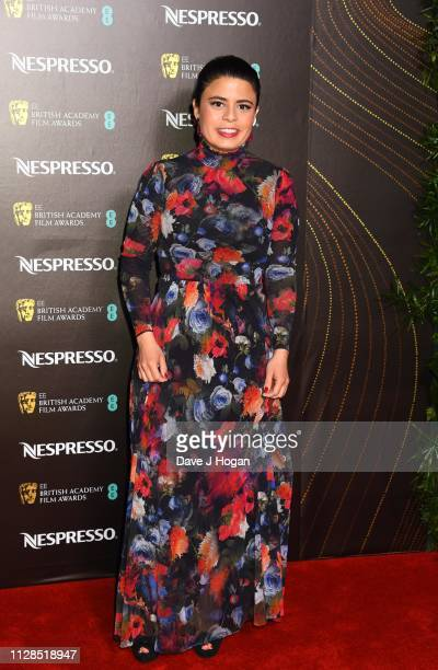 Gabriela Rodriguez attends the Nespresso British Academy Film Awards nominees party at Kensington Palace on February 09 2019 in London England