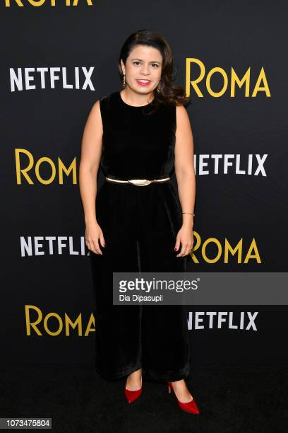 Gabriela Rodriguez attends the Roma New York screening at DGA Theater on November 27 2018 in New York City
