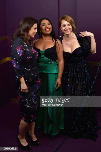 Gabriela Rodriguez Yalitza Aparicio and Marina de Tavira attend The Hollywood Reporter's 7th Annual Nominees Night presented by MercedesBenz Century...