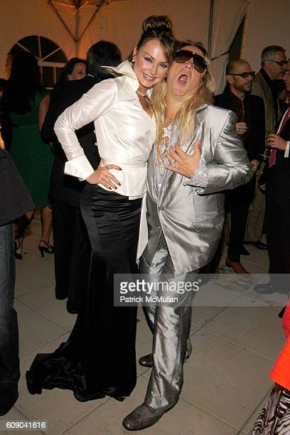 Gabriela Spanic and Rocio Ciriani attend PEOPLE EN ESPANOL'S 50 Most Beautiful StarStudded Event at Splashlight Studios on May 16 2007 in New York...