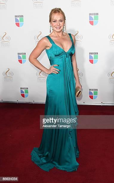 Gabriela Spanic arrives at Univision's ''Premio Lo Nuestro a La Musica Latina'' Awards at Bank United Center on March 26 2009 in Coral Gables Florida