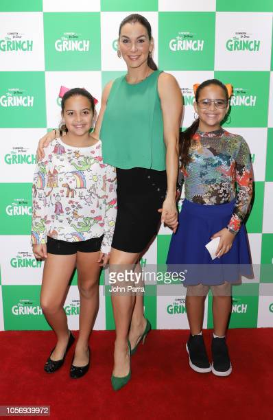Gabriela Vergara and her children attend Universal Pictures Presents A Special Screening Of Dr Seuss' The Grinch at Cobb CineBistro at CityPlace...