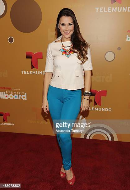 Gabriela Vergara attends Billboard Latin 2015 nominess press conference on February 9 2015 in Doral Florida
