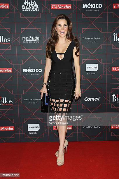 Gabriela Vergara attends Los Bellos de TvYNovelas 2016 at Bosque de Chapultepec on August 31 2016 in Mexico City Mexico