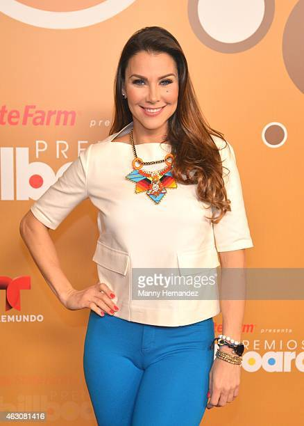 Gabriela Vergara attends the Billboard Latin 2015 nominees press conference at Trump Doral on February 9 2015 in Doral Florida