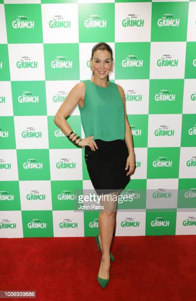 Gabriela Vergara attends Universal Pictures Presents A Special Screening Of Dr Seuss' The Grinch at Cobb CineBistro at CityPlace Doral on November 3...
