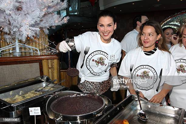 Gabriela Vergara participate in 5th Annual Thanksgiving Feed A Friend at Bongos on November 22 2012 in Miami Florida