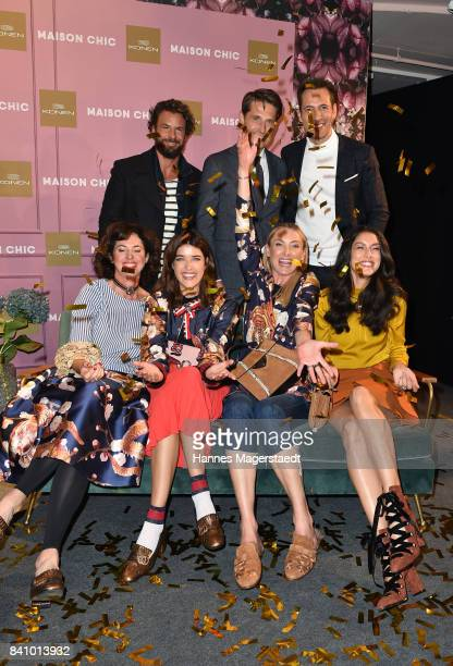 Gabriele Castegnaro Marie Nasemann Prinzessin Lilly SaynWittgenstein Rebecca Mir Stephan Luca Alexander Mazza and PeterÊEberle during the Maison Chic...