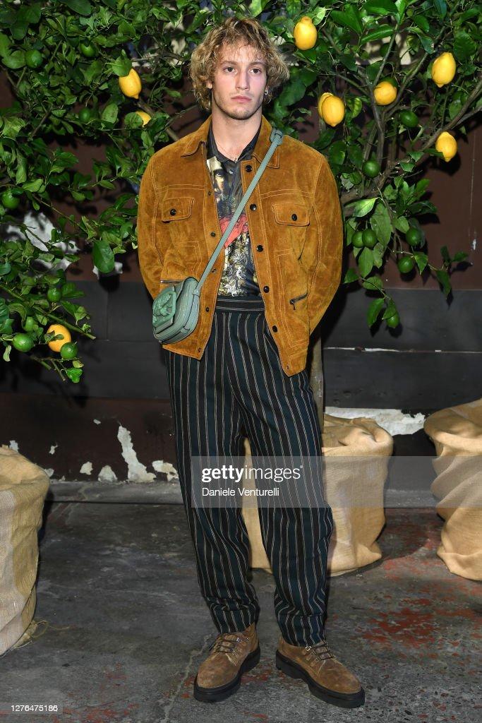 Etro - Arrivals / Front Row - Milan Fashion Week Spring/Summer 2021 : ニュース写真
